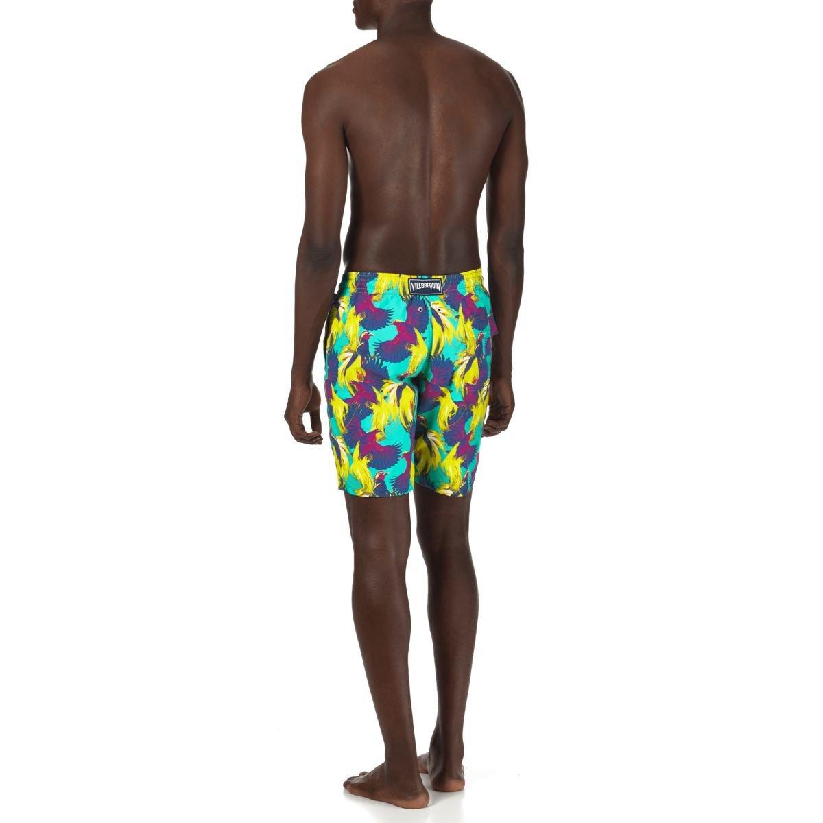 5497aae6b5650 Vilebrequin - Men Long Swimwear Birds of Paradise: Amazon.co.uk: Clothing