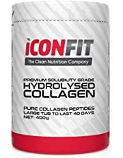 Hydrolysed Collagen Premium Solubility Grade Peptides Powder for Healthy Joints and Younger Skin; No Additives; Quick Solubility - 400g Tub, 40 Day Supply; Trusted EU Produced Collagen