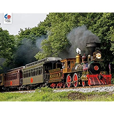 All Aboard Forest Train Ride Puzzle - 750Piece: Toys & Games