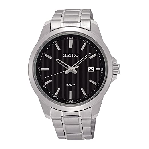 5d315da36b2f Reloj para Hombre al Cuarzo Seiko 5 Neo Classic SUR155P1  Amazon.es  Relojes