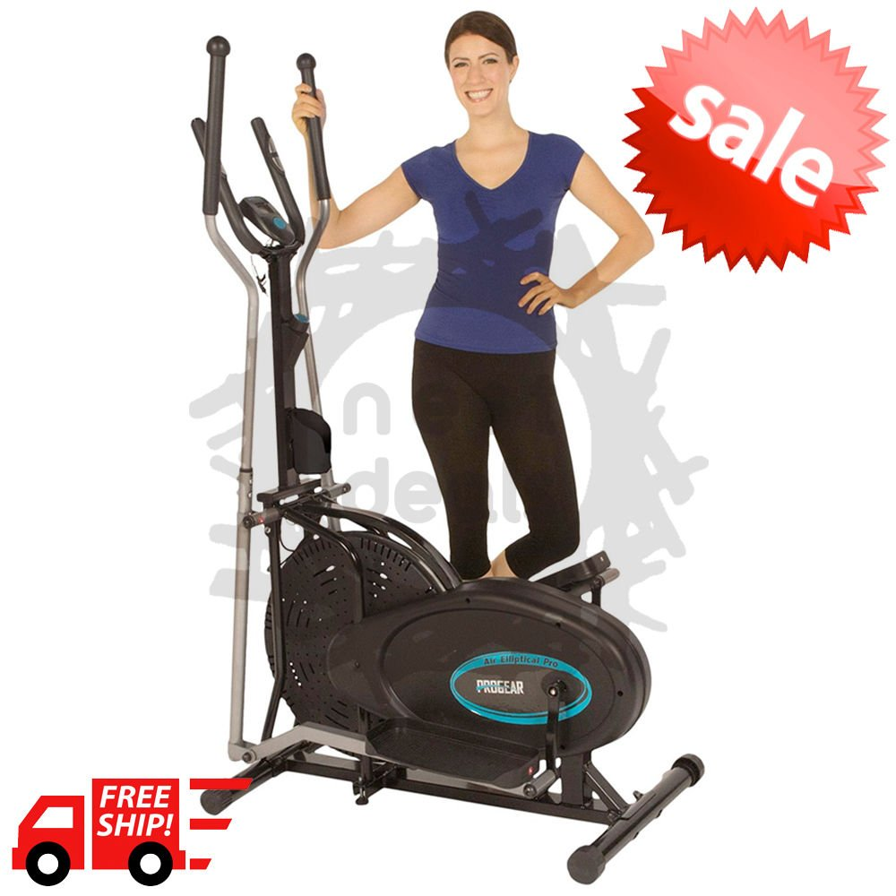 Elliptical Exercise Indoor Fitness Trainer Workout Machine Cardio Gym Equipment by noooshi