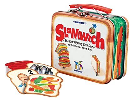 Gamewright Slamwich CollectorS Edition Tin Card Game - 1 Pack