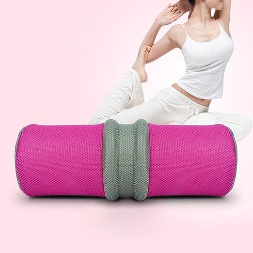 NACHEN Almohada Cojín Lumbar Yoga Cintura Cuerpo Óseo ...
