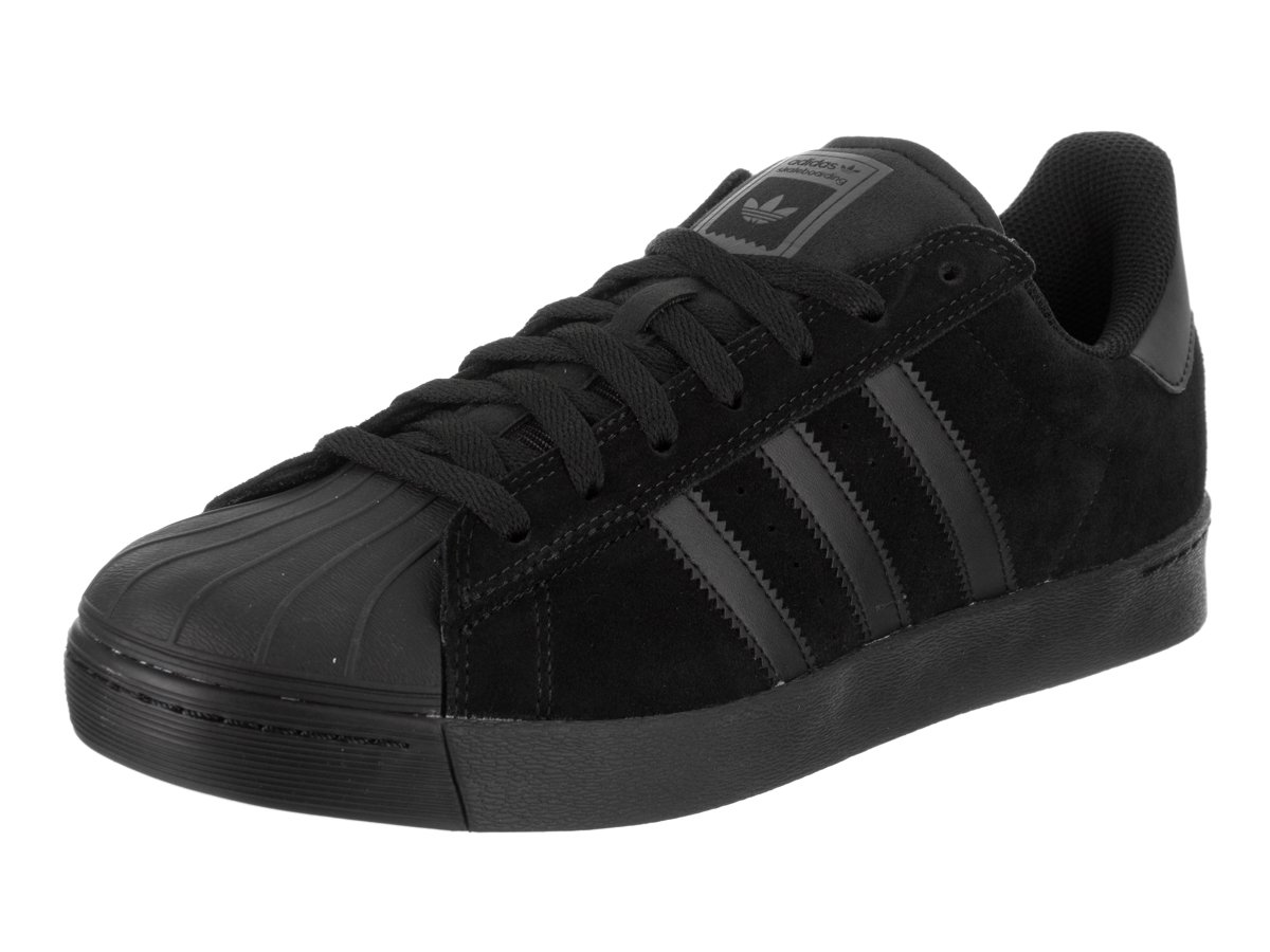 adidas Originals Men's Superstar Vulc Adv Shoes B01MSWY5OS 5.5 M US|Core Black/Core Black/Core Black