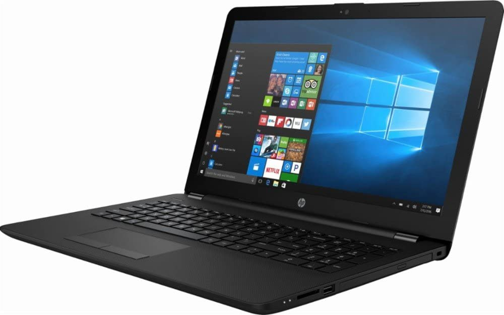 Newest HP Flagship High 15.6 inch HD Laptop PC, AMD A6-9220 Dual-Core, 8GB RAM, 256GB SSD, DVD +/-RW, Bluetooth, USB 3.1, HDMI, Windows 10 Home (Jet Black)