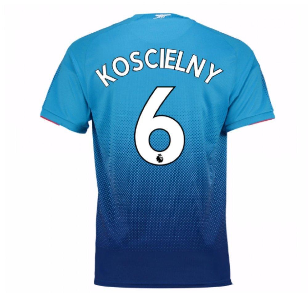 2017-2018 Arsenal Away Shirt (Koscielny 6) Kids B078493YCPKoscielny 6 XL Boys 32-34\
