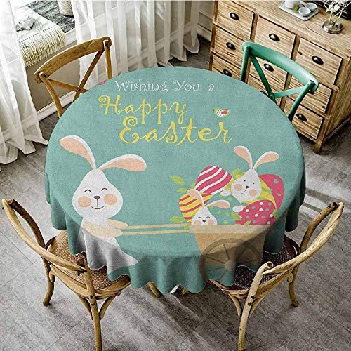 (Home Decor Round Tablecloth 47
