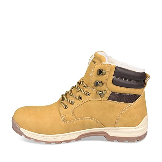 Bottines JAUNE CAPE MOUNTAIN Homme Chaussea: