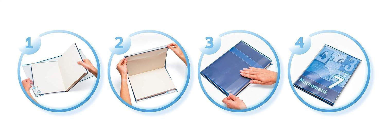 18 cm hoheTransparente  Buchschoner Buchumschläge Buchumschlag 10 x 180mm