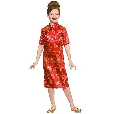 be7818b55 Kids Chinese Girl Fancy Dress Costume: Amazon.co.uk: Clothing
