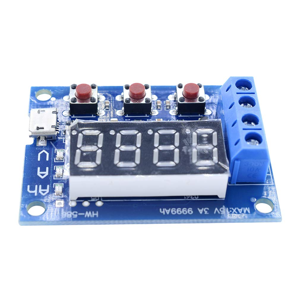 Diymore 18650 Li-ion Lithium Lead-Acid Battery Capacity Meter Discharge Tester by diymore (Image #10)
