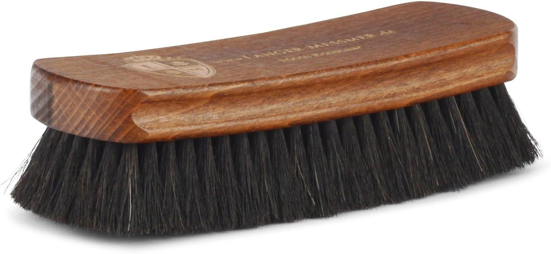 Langer & Messmer cepillo lustrador   Cepillo de crin para pulir los zapatos