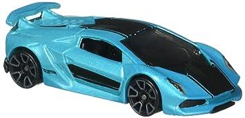Hot Wheels 2016 Hw Exotics Lamborghini Sesto Elemento Aqua
