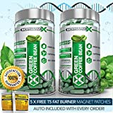 X2 STRONGEST LEGAL GREEN COFFEE BEAN EXTRACT -SLIMMING / DIET & FAT BURNER PILLS