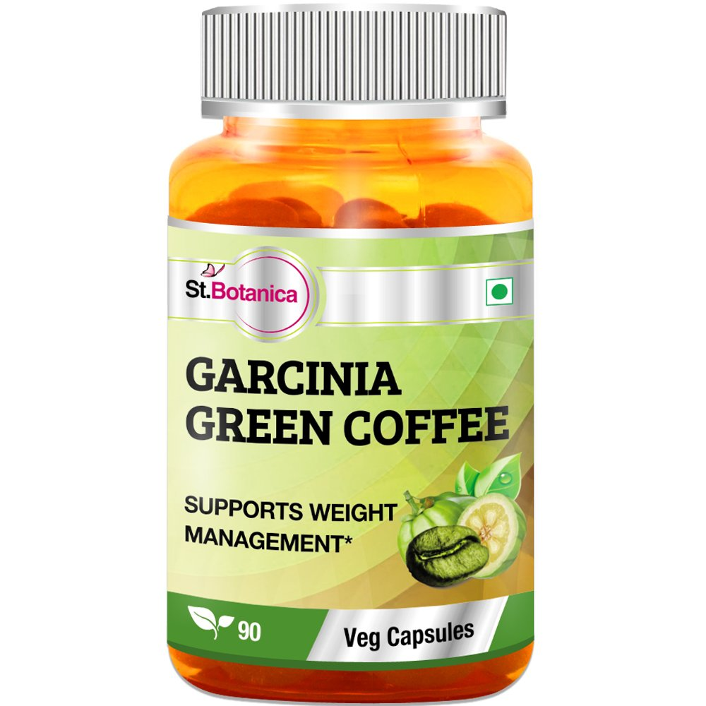 St.Botanica Garcinia Green Coffee Bean Extract - 90 Veg Caps- Pack Of 10 by St. Botanica (Image #3)