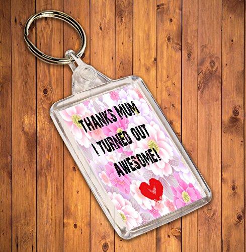Par Akgifts Porte Maman clés Retourne Maman Face Merci Cadeau nbsp;funny Je Double nbsp;– Excellence xvnPxrI