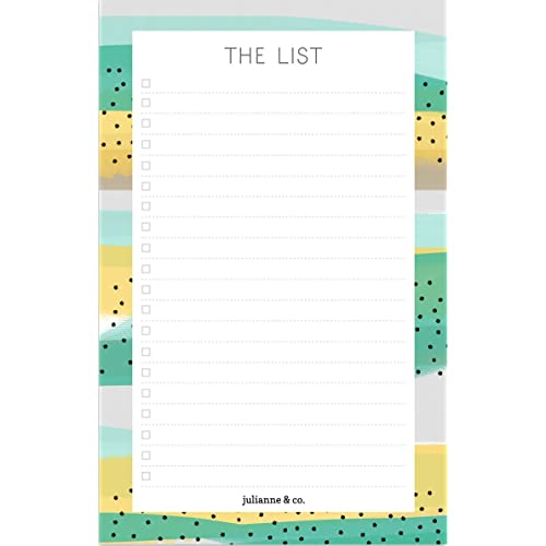 magnetic shopping list notepad amazon com
