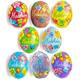Madelaine Chocolates Easter Eggs - Traditional Easter Basket Mainstays - Solid Premium Milk Chocolate Eggs Foiled In A Variety Of Solid and Floral Colors - 1 LB