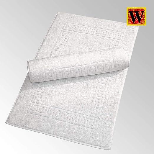 Sleep&Beyond - Alfombrilla de baño (algodón Egipcio, 750 g/m² ...