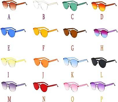 Gafas de sol vintage gafas de sol mujer transparent gafas de ...