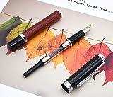 Jinhao Nature Rose Wood Fountain Pen Bent