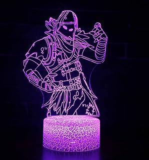 3D Lámpara de Escritorio Win-Y LED 7 del tacto del color de la lámpara