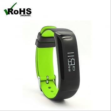 Montre Connectée avec Podomètre,Tracker dActivité,Alertes Appel SMS,Podomètres,