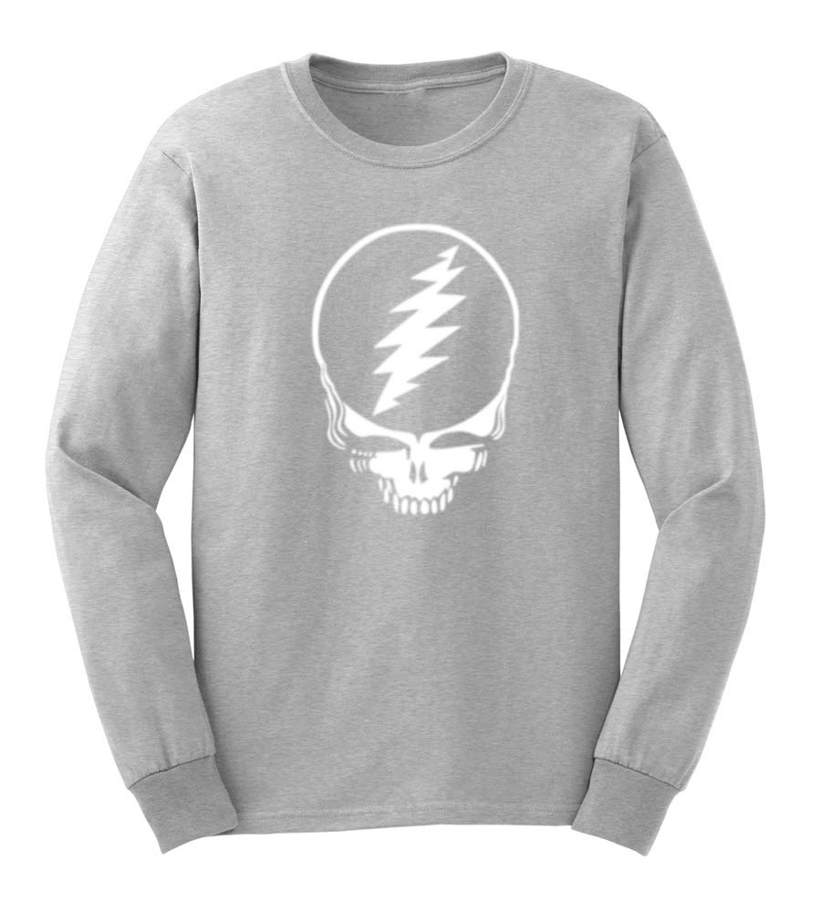 Lexiu Yibai Grateful Dead Steal Your Face Skull Casual T Shirts S Tee 2243