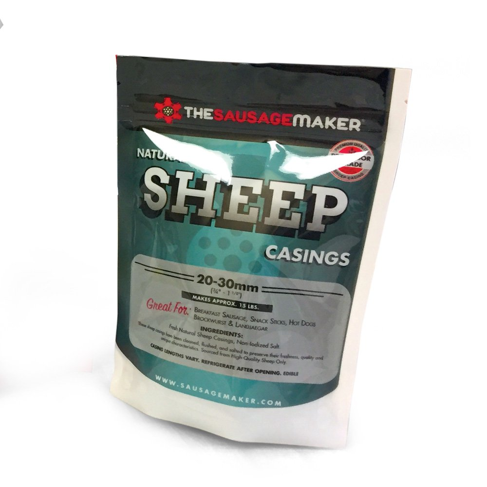 Home Pak Natural Sheep Sausage Casings, 1 Pack