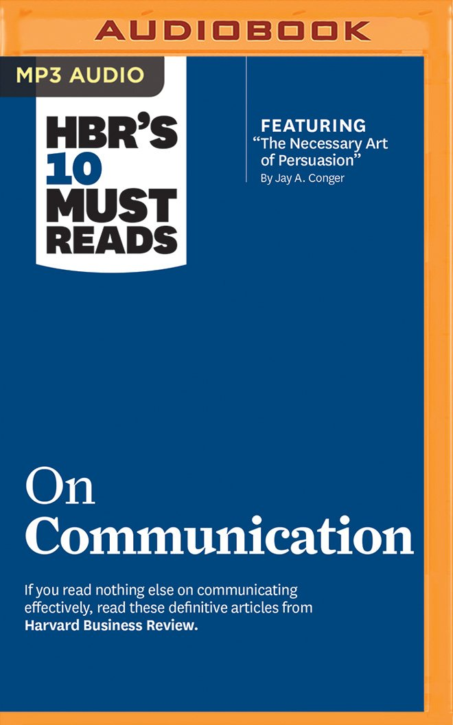HBR's 10 Must Reads on Communication ebook