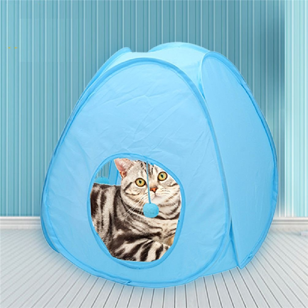 Foldable Portable Pet Cat Tent Toy Funny Educational Toys For Small Cat House Cat Tunnel