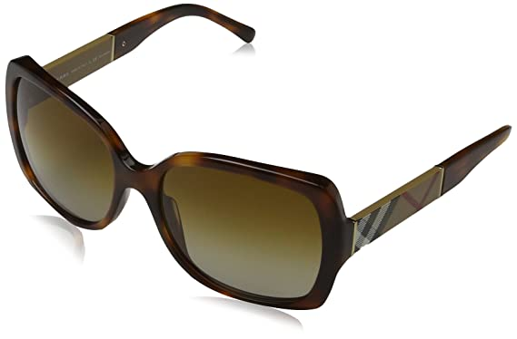 d20e57849164 Amazon.com  Burberry 4160 3316T5 Tortoise 4160 Square Sunglasses ...