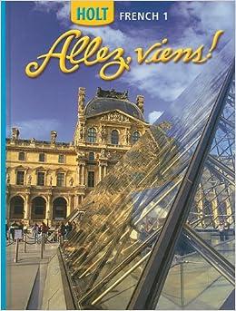 Amazon.com: Allez, Viens! French 1 (9780030369421): RINEHART AND ...