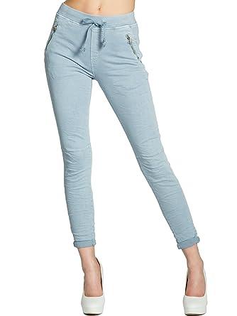 CASPAR KHS043 lässige Damen Super Stretch Hose mit optimaler Passform   Amazon.de  Bekleidung 1ec6ee2ad9