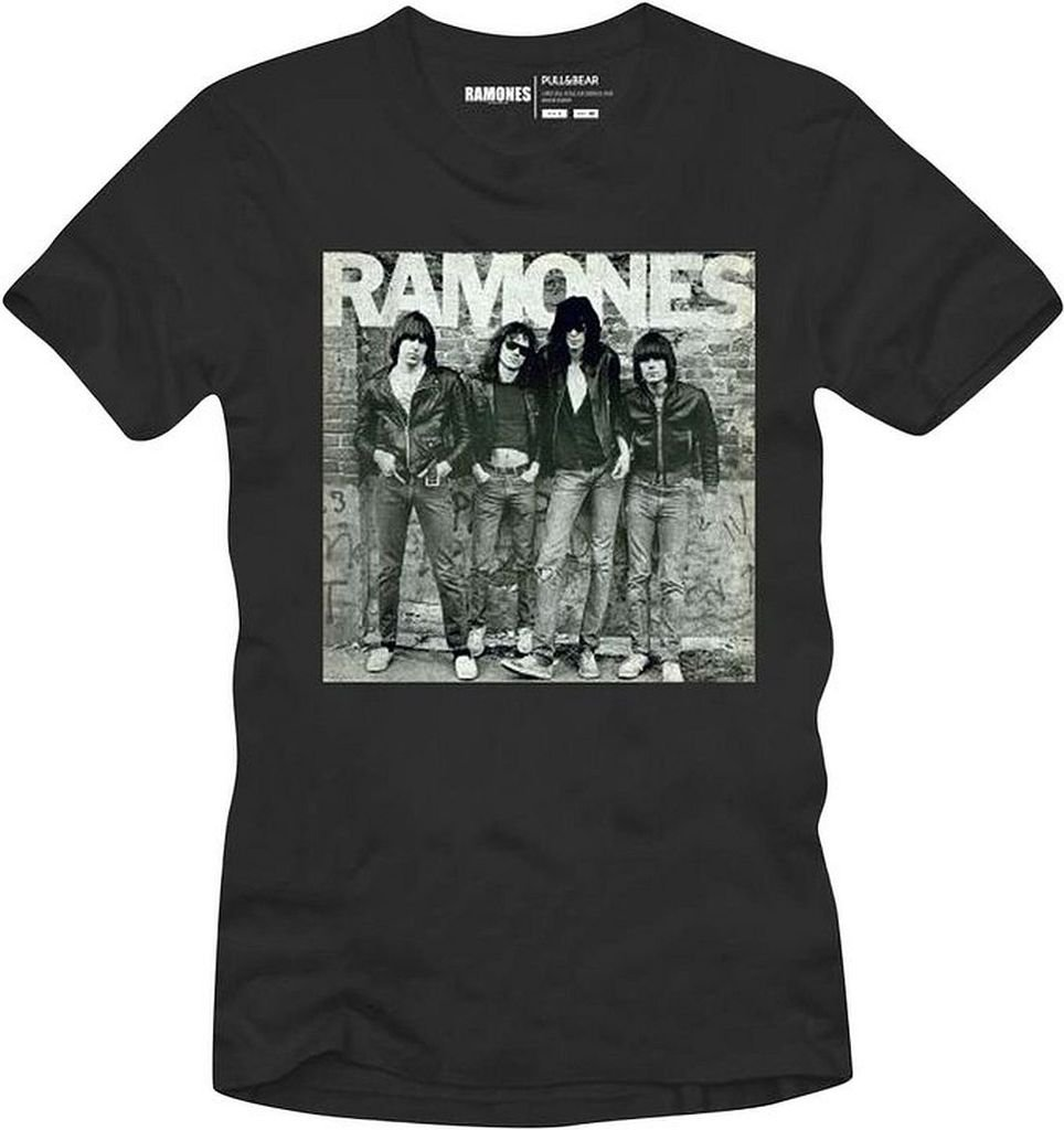 Ramones First Album S Black Tshirt