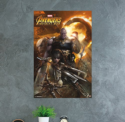 Trends International Avengers: Infinity War Evil Group Wall
