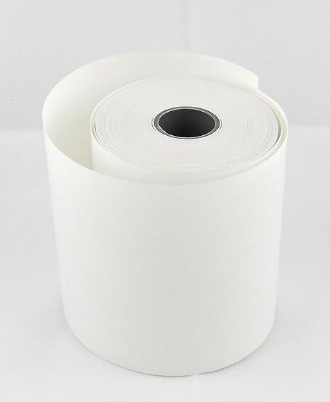 Bisphenol-A BPA Thermo Kassenrollen 50//30//12 /Ø 50mm 50 Thermorollen f/ür Sanyo ECR 646 S frei zertifizierte HKR-Welt/® Bonrollen aus Thermopapier