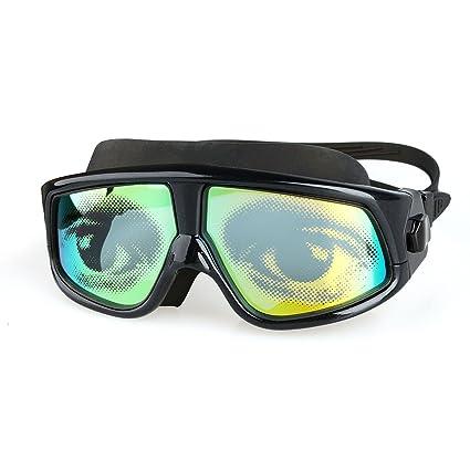 fb3f9942c9 Amazon.com   Eyes Printung Swim Goggles Anti Fog Uv Adult Swimming ...