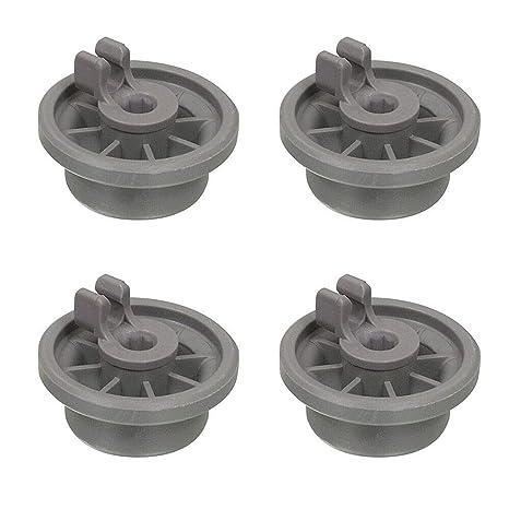 Paquete de 4 clips de rueda de repuesto para cesta inferior ...