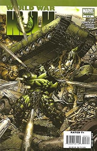 David Finch Cover - WORLD WAR HULK #3 VF/NM -NM DAVID FINCH COVER