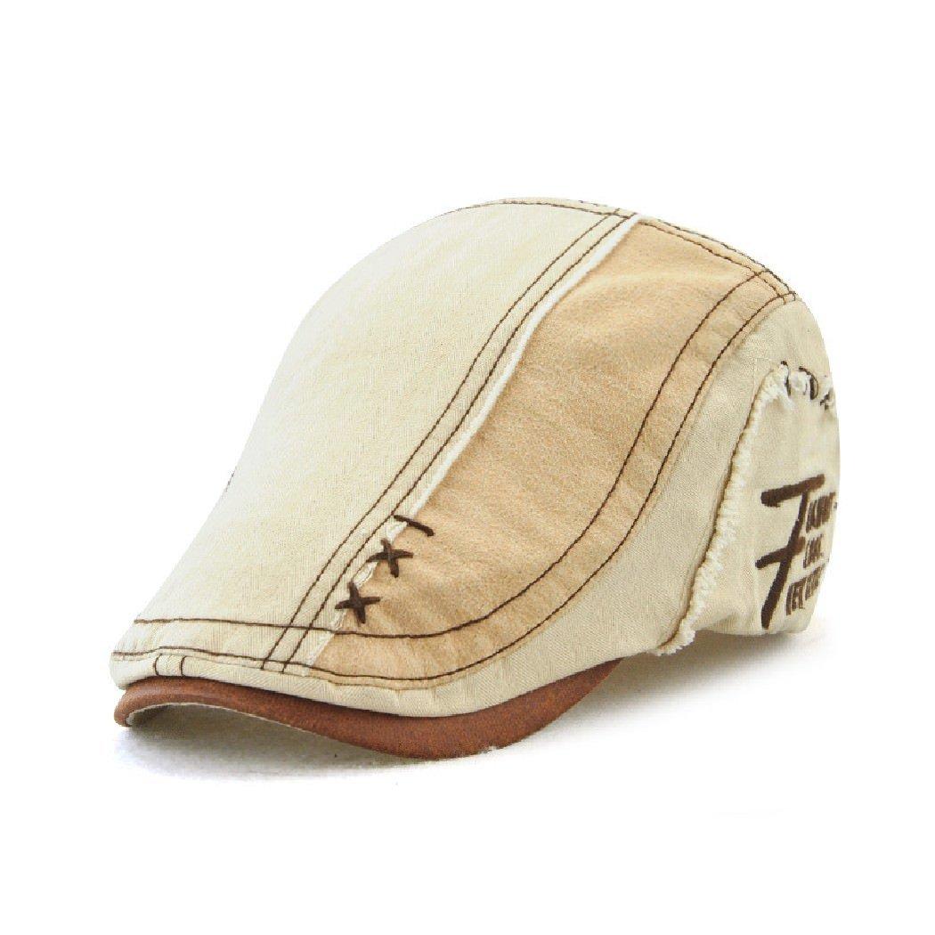 c151666197f Jamont Unisex Summer Outdoor Casual Cotton Visor Hat Beret Newsboy Cap