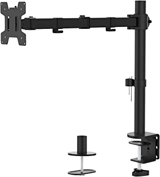 """10/"""" to 30/"""" Single LCD Monitor Desk Mount Stand Fully Adjustable for 1 Screen"""