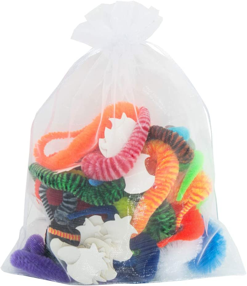 ONEST 19 Pieces Magic Worm Toys Wiggly Twisty Fuzzy Worm Toys Carnival Party Favors,19 Colors