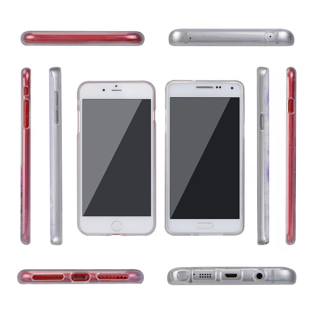 Funda Samsung Galaxy S7 Active-FUBAODA-3D Realzar 5.1 Carcasa Protectora Anti-Golpes para Samsung Galaxy S7 Active Hermoso Dibujo de Vidriera con Dise?os Vegetales,Amortigua los Golpes