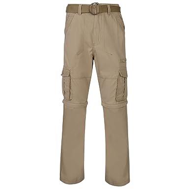c4054318cd Kam Jeanswear Men's Zip-Off Cargo Combat Trousers: Amazon.co.uk ...