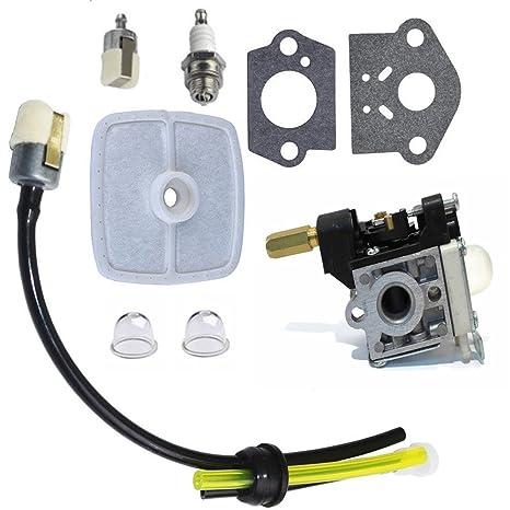 ganbace carburador con Kit de mantenimiento de combustible bujías para Echo GT200 gt201i refrigerador hc151 PE200