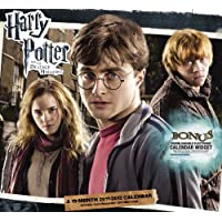 Harry Potter and the Deathly Hallows 19 Month 2011-2012 Calendar: Includes Bonus Downloadable Electronic Calendar Widget