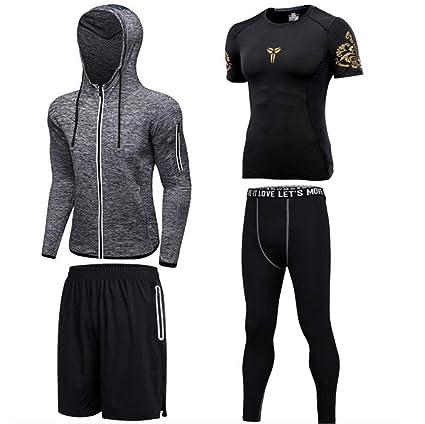 buy online 0d1a9 6c56b ACVXZ Yoga Kleidung Trainingskleidung Männer Set von Vier ...