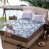 FDCVS Comfortable Breathable Tatami mats Mattress, Student [dorm room] Mattress, Bedroom Thicken Keep warm Mattress, Floor Mat cushion-C 135x200cm(53x79inch)
