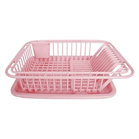 shuang Dish Rack Kitchen Plastic Drain The Water Bowl Shelf